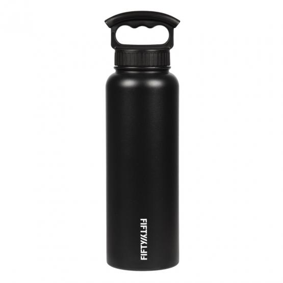 Botella 1.1 L negra